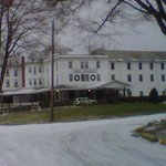  Hotel Conneaut in winter.