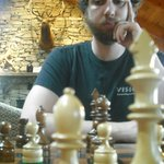                    Enjoyed a game of chess in the lodge while listening to a roaring rain storm o