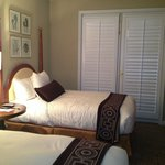 Excellent service, comfortable beds, attention to detail and a peaceful retreat within walking d