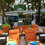 Hotel, restaurant & beach chairs