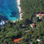Villa Favorita from air