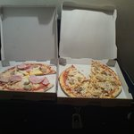 Food that bad we had to bring in our own pizza from across the road
