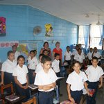                    Visit to a local school in Costa Rica
