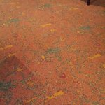  Carpet anno 1990 in the restaurant