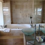 great spa and bathroom
