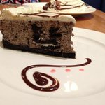 Oreo cheesecake! -Taken with an Apple iPhone 5