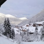                    View from the room after heavy snowfall
