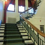  The staircase to the first floor rooms