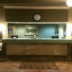  The front desk.  It&#39;s only partly done, but there&#39;s more to come!