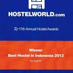  No 1 Hostel in Indonesia, voted for by Hostelworld Guests