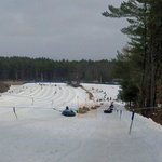 Lift ride up the Tubing Hill
