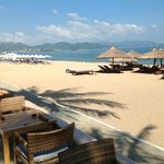Nha Trang Beach from the Sailing Club