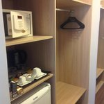                    Safe, minibar and dressing