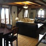                    living area Chalet le Dragon