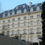 The outside of the Hotel De France