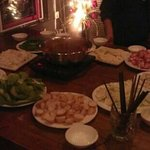 free hot pot party!