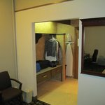                                      Luggage/closet area.