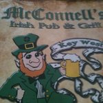                                      McConnell&#39;s Pub sign