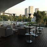 Roof top deck bar