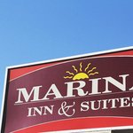  Marina Inn Sign