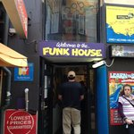                    Entrance to Funk House