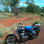 photo of my baby at tennant creek
