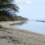 View of beach by Ababor Suites