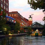  Bricktown Canal at Sunset