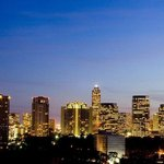 Uptown Houston Skyline