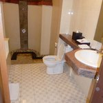  Our very large bathroom, large bath to the left