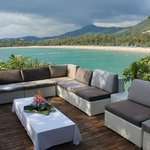                    Terrace with view on Kata Beach