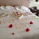                    nice arrangement by housekeeper Bahaa Ali