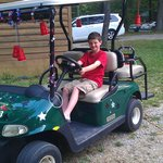 "golf cart "" red solo cup stars"""