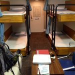 our private room but bunk is all they had available but it was all ours! bathr