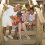  Missionary, Tabatha with some locals.