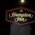 HAMPTON INN HENDERSON, NC at Night time