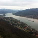 View from Visegrad,Danube Bend