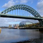  Tyne Bridge viewed from Newcastle Quayside