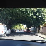 View of Calle Gen del Valle .. Street it's located on