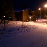 Night Snow at Roundhouse Resort