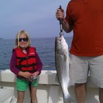 first striper!