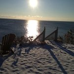 Foto de A Beach House Oceanfront Bed and Breakfast