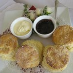                    Afternoon tea..hot scones.