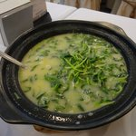 vegetable in chicken soup - excellent