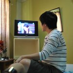 "Don Facundo watching ""Be Careful with my Heart"""