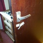 Bathroom Door Lock Room 5!