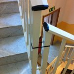 More cable ties to stop you killing yourself on the stairs