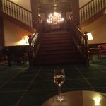 Very traditional lobby lounge & bar