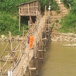 nearby Bamboo Bridge to centre of town