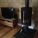 amazing log burner